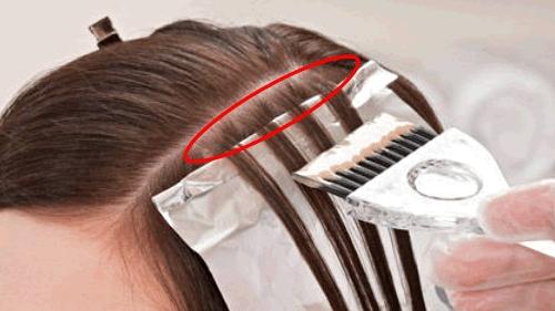 Как правильно разделить волосы по зонам для мелирования
