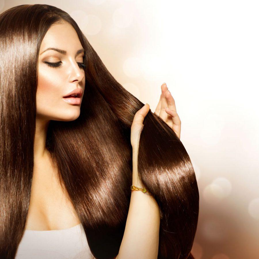 Модель волосы