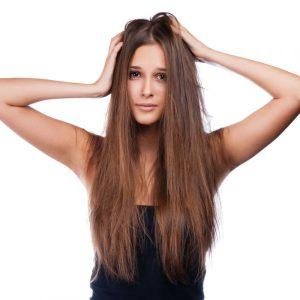 кондиционеры используют если волосы секутся