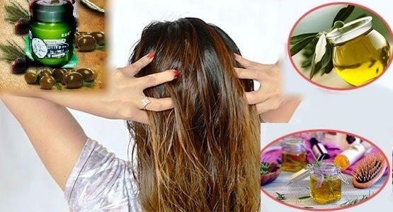 Применение косметики для волос