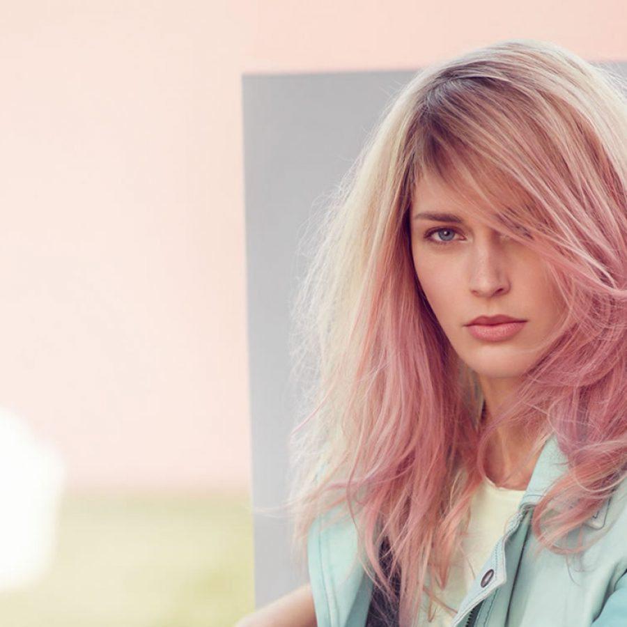 Оттеночный цвет волос