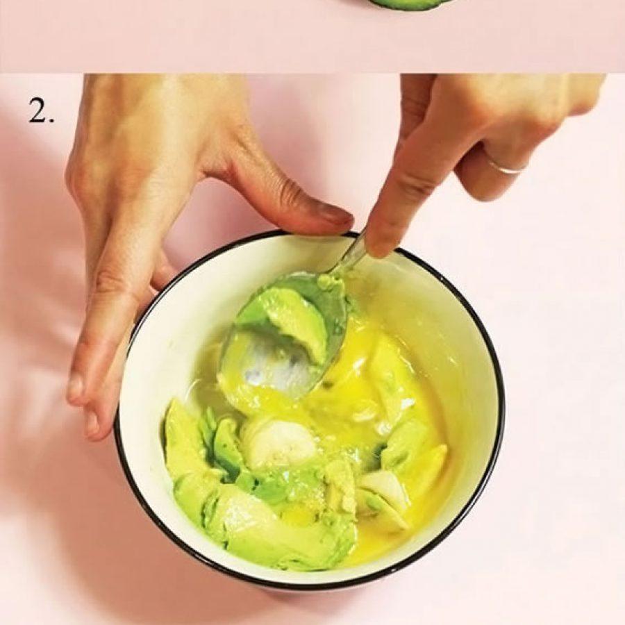 Приготовление масок для волос банан