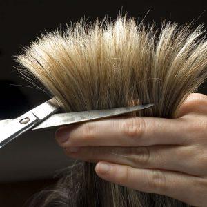 Слишком частой термической обработки сечение волос