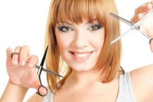 Стричь волосы на несколько сантиметров