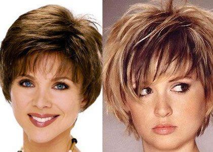 Самые модные женские короткие стрижки на короткие волосы 82