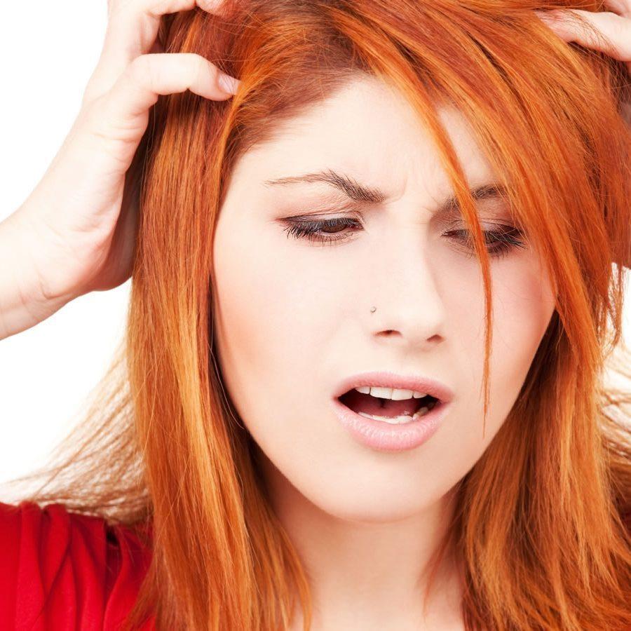Помощь сухим волосам