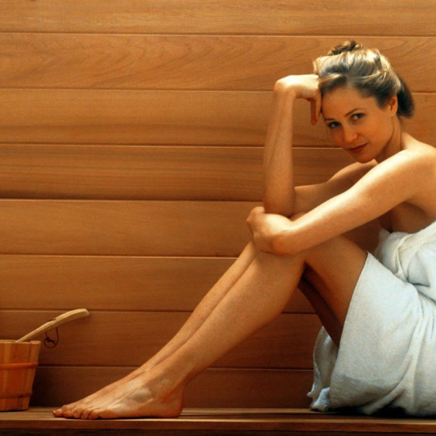 Укрепление волос в бане