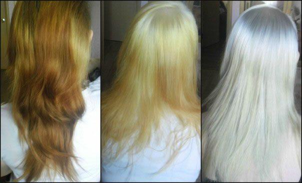 Можно ли осветленные волосы обесцвечивать