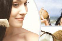 кокос питает и увлажняет волосы, маски с кокосом крайне полезны