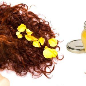 Маска с травами и медом для волос