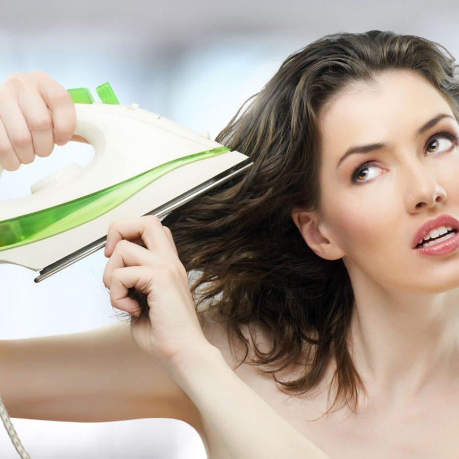 Принципы сушки волос