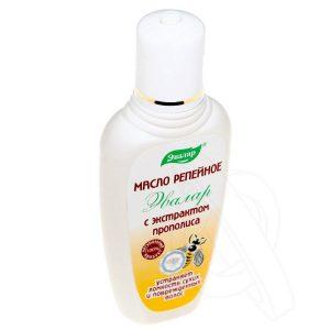 репейное масло для сеченых волос