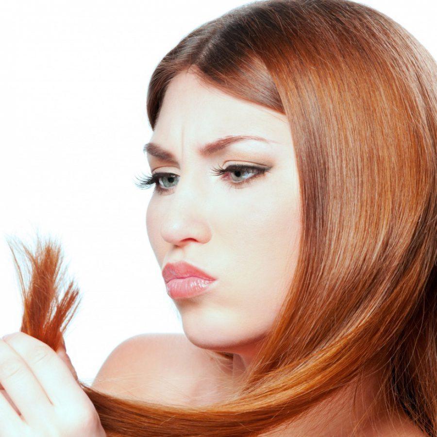 волосы очень секутся и ломаются по всей длине