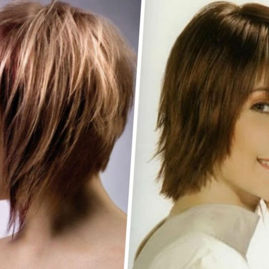 Стрижка каскад может быть выполнена не только на средние волосы, но и на короткие
