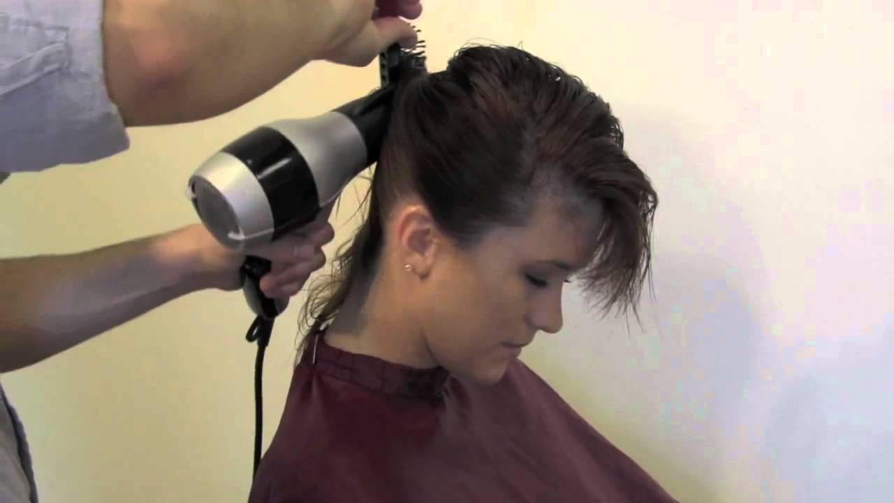 как правильно уложить короткие волосы