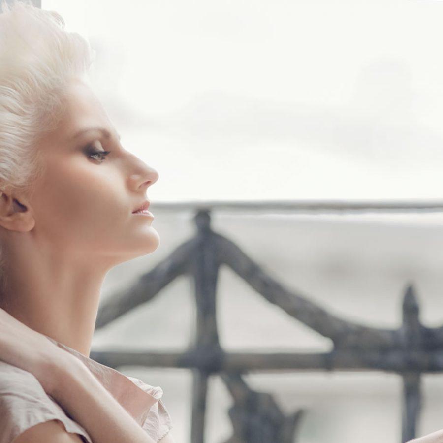 Блонд холодных оттенков