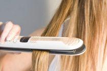 Выпрямление волос утюжком сильно вредит волосам