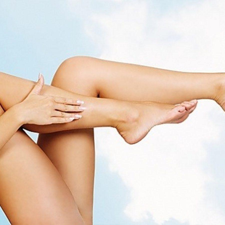 Как убрать волосы на ногах