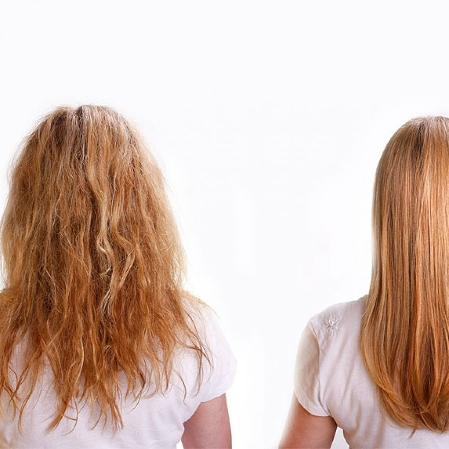 процедура кератинового лечения для роста волос