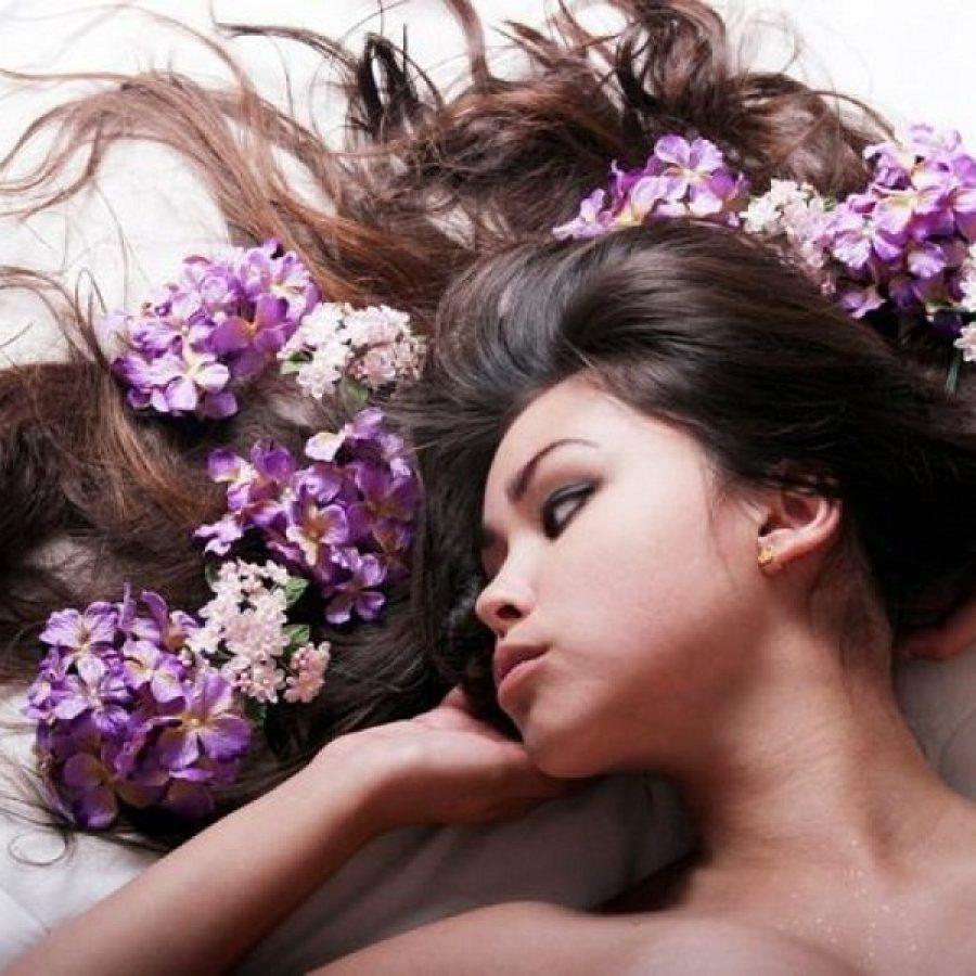 использование народных средств для волос