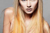 окрашивание волос в два цвета придаст определенный стиль