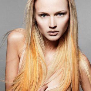 Окрашиваие волос гранж