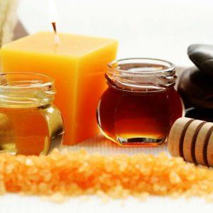 Пилинг с медом