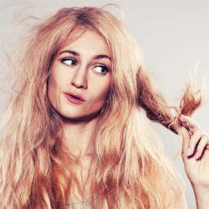 воздействием высокой или низкой температуры вредит волосам