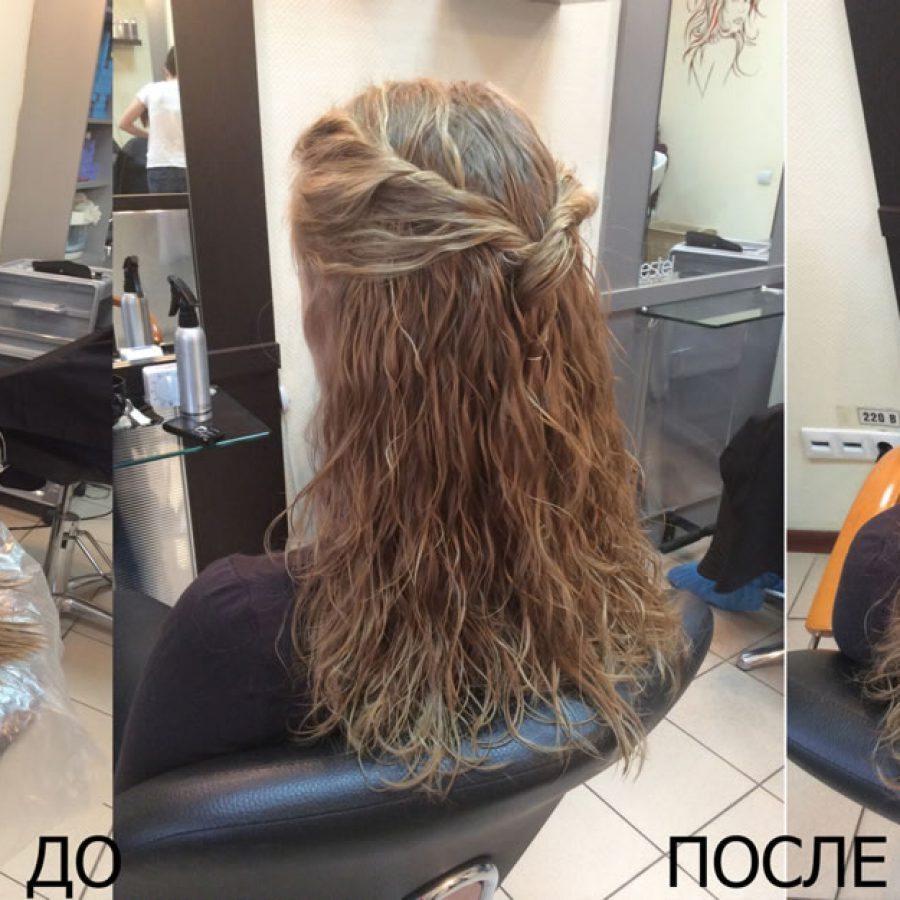 Мокрая химия для волос в домашних условиях