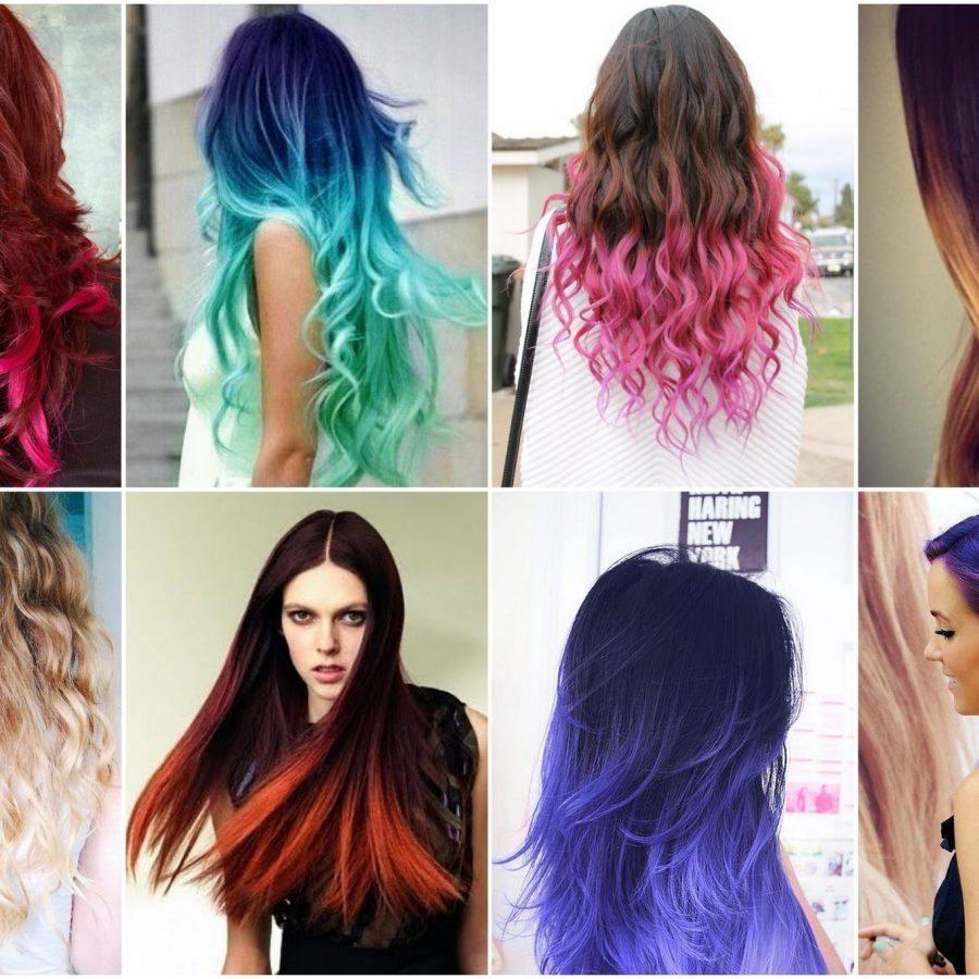Техники покраски волос