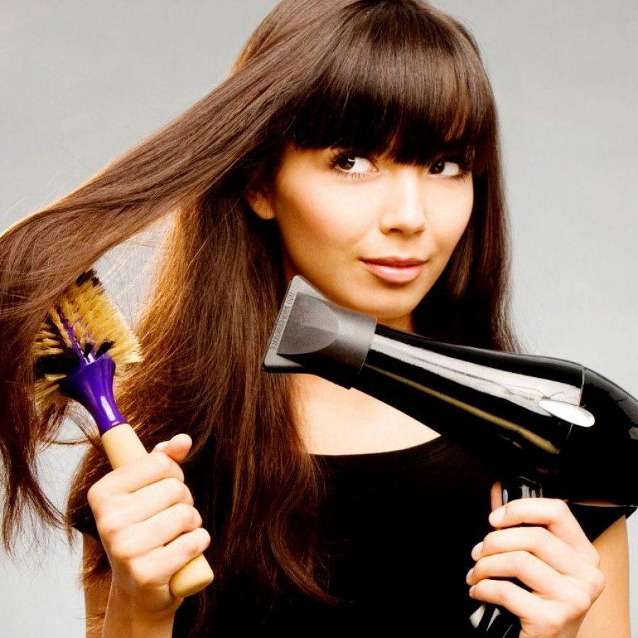 Выпрямить волосы в домашних условиях без утюжка
