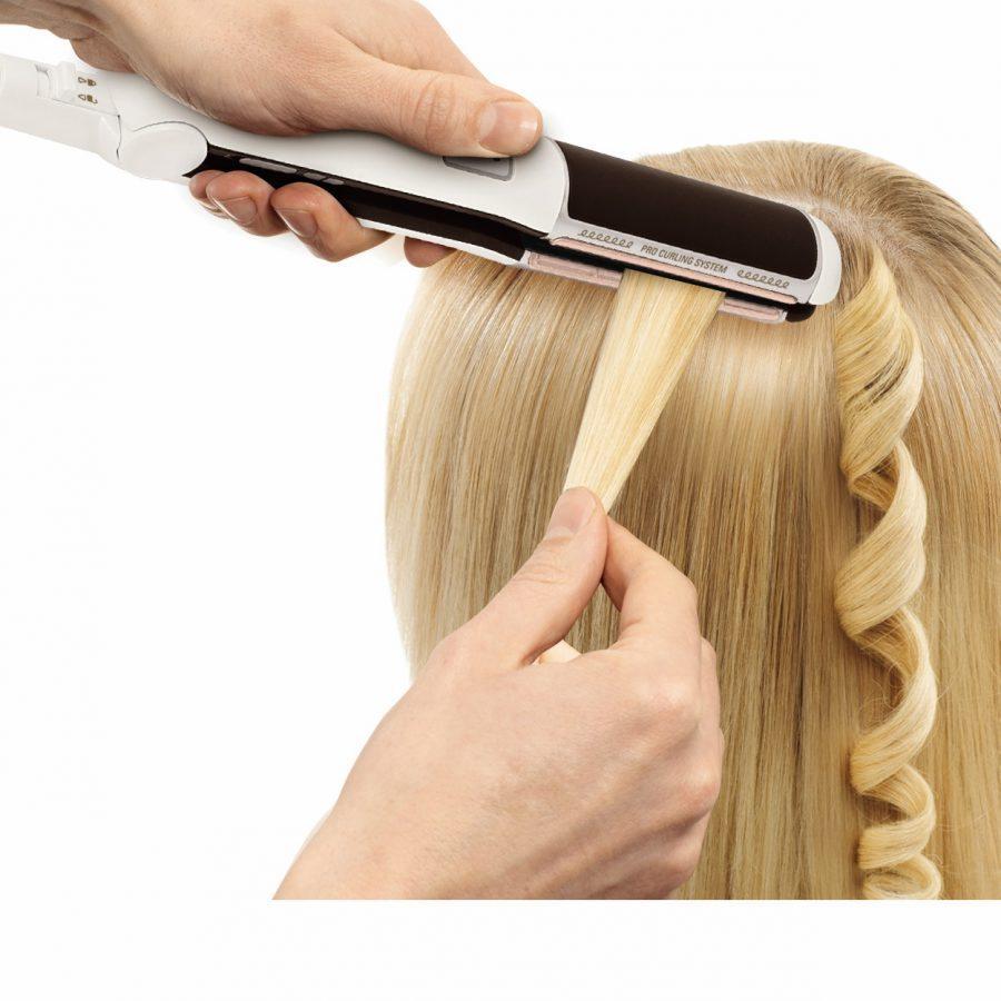 как накрутить волосы от корней до кончиков выпрямителем