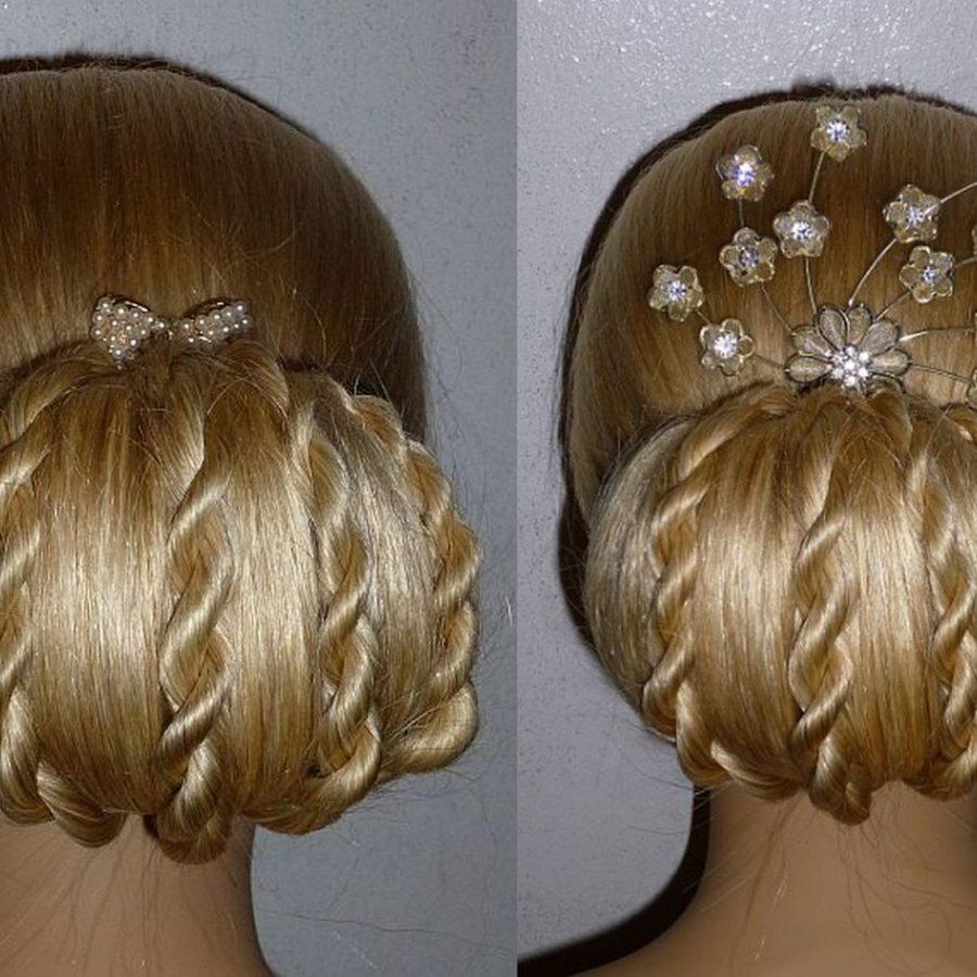 Бублик коса