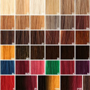 Цвет волос палитра