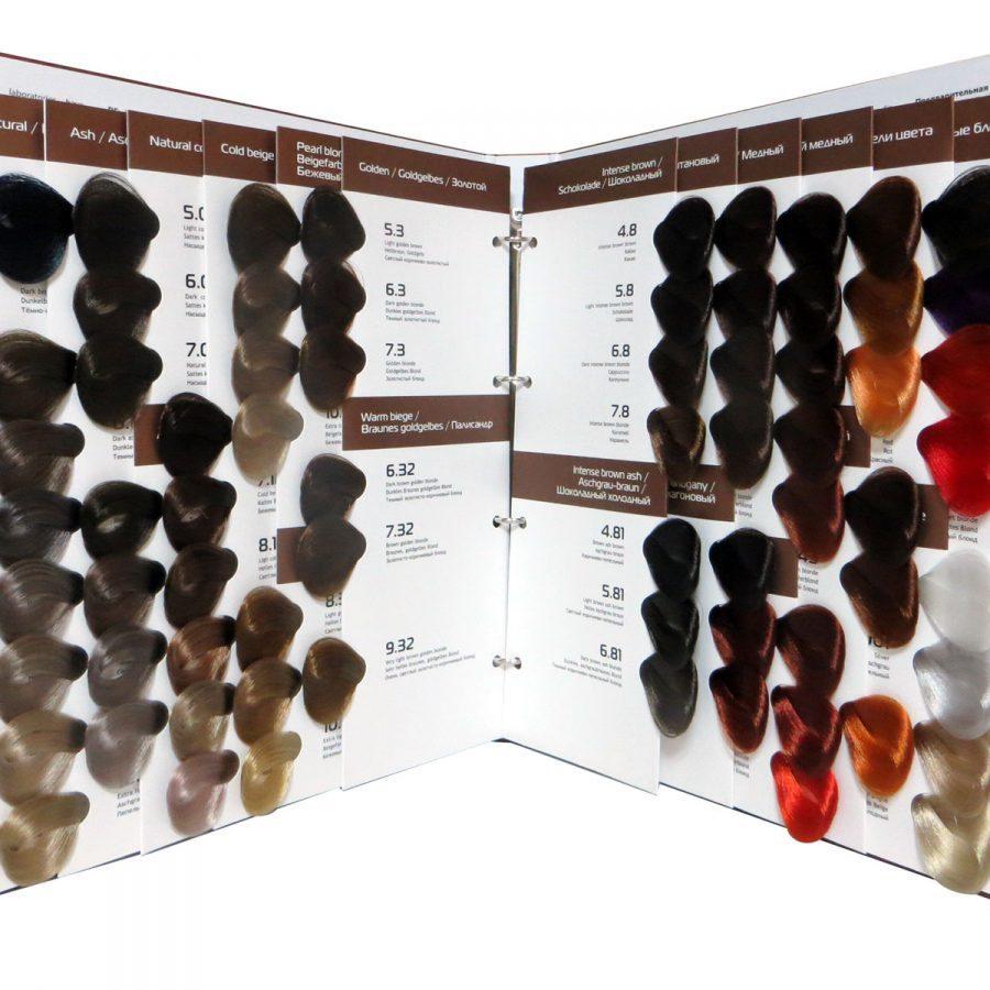Профессиональная краска для волос палитра цветов цена