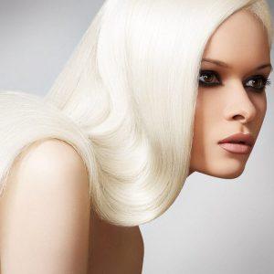 Обесцвечивание волос