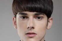 «Горшок» может выполняться в домашних условиях. Работа выполняется с парикмахерскими ножницами, расческой и флаконом с пульверизатором.
