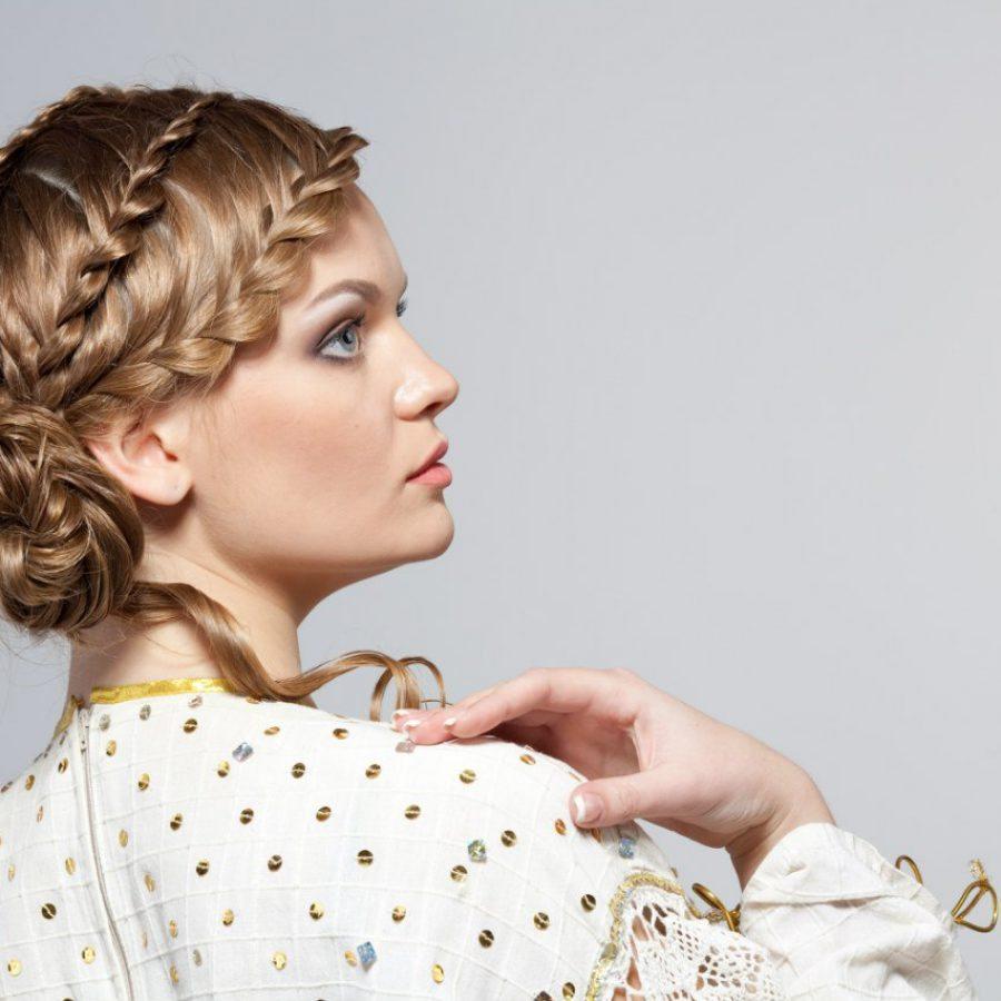Прическа коса
