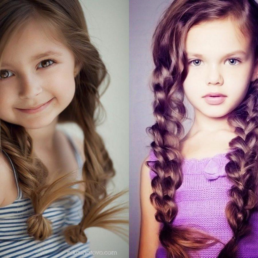 Прически маленьким девочкам