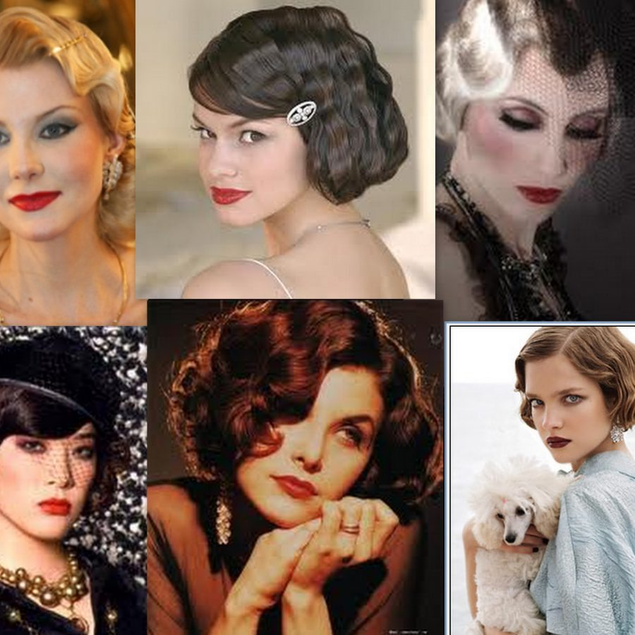 Причёски в стиле 30-х