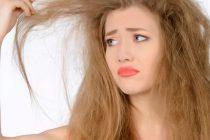 На сухие кончики волос влияет множество негативных факторов