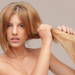 Сухие волосы
