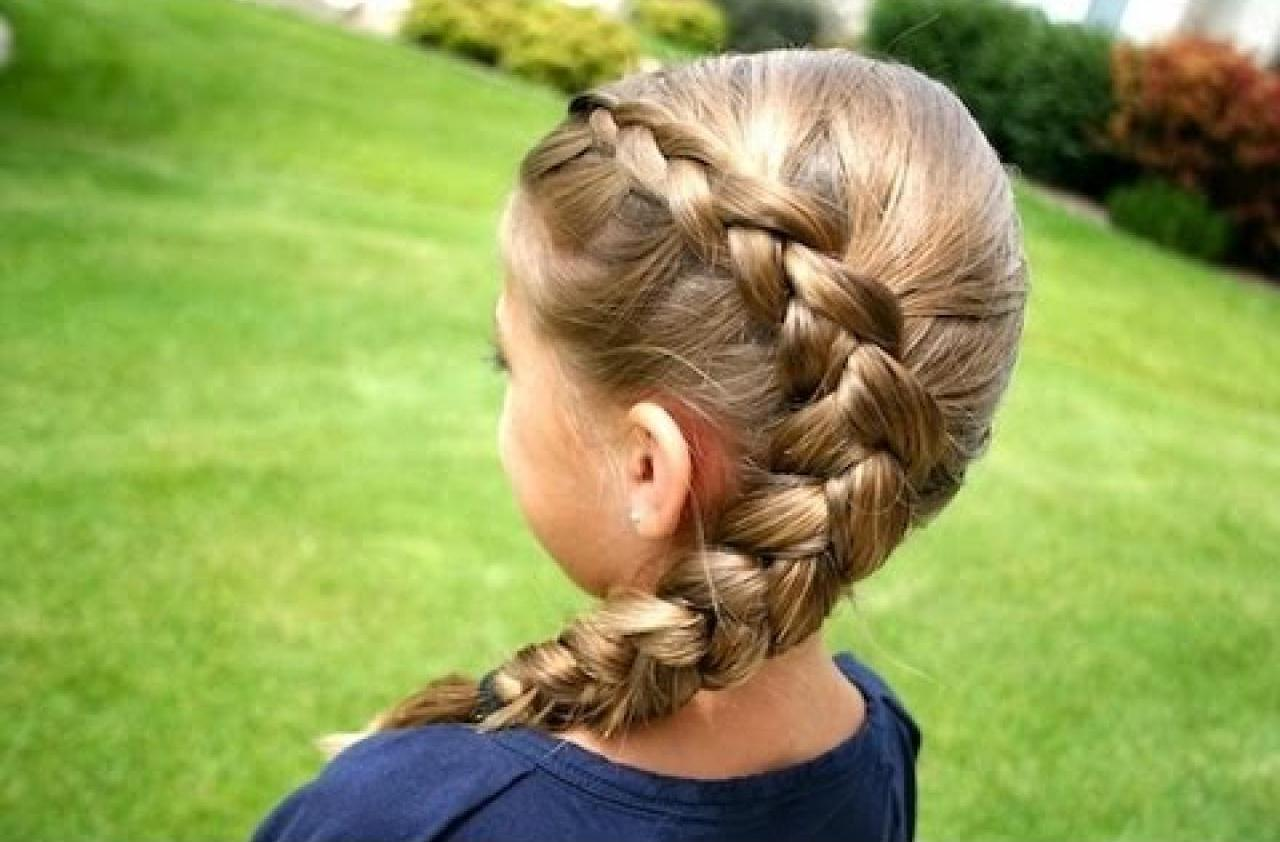 Прически для девочки косы фото