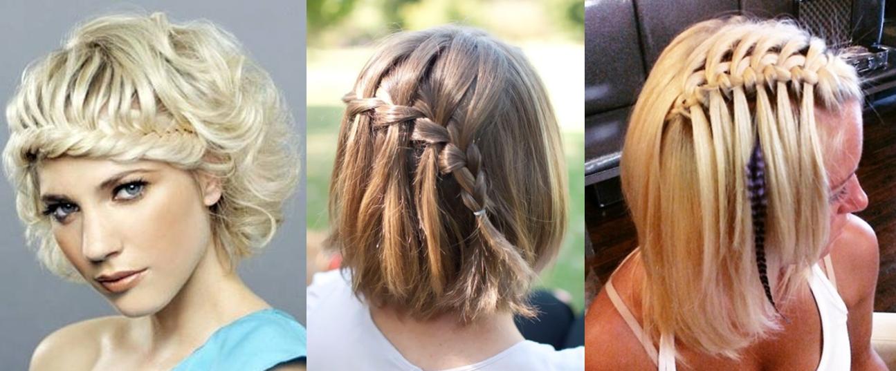 Красивые причёски на каре в домашних