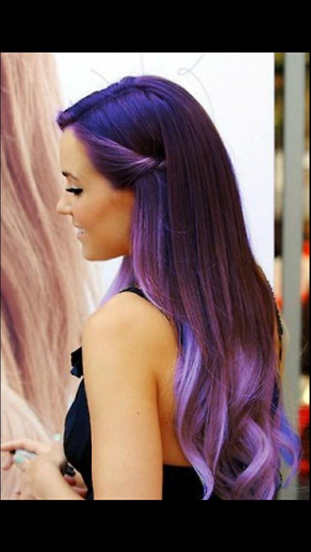красиво покрашенные волосы фото
