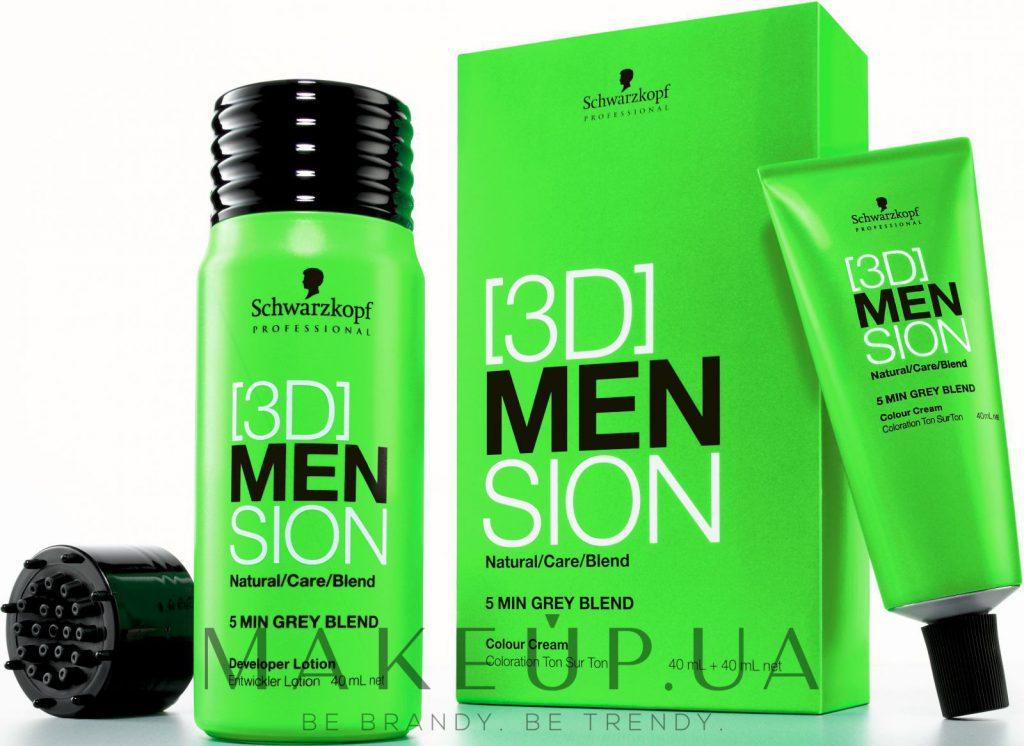 Краска для волос мужская