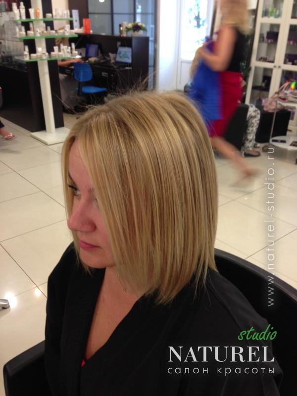 Короткая стрижка жидкие волосы