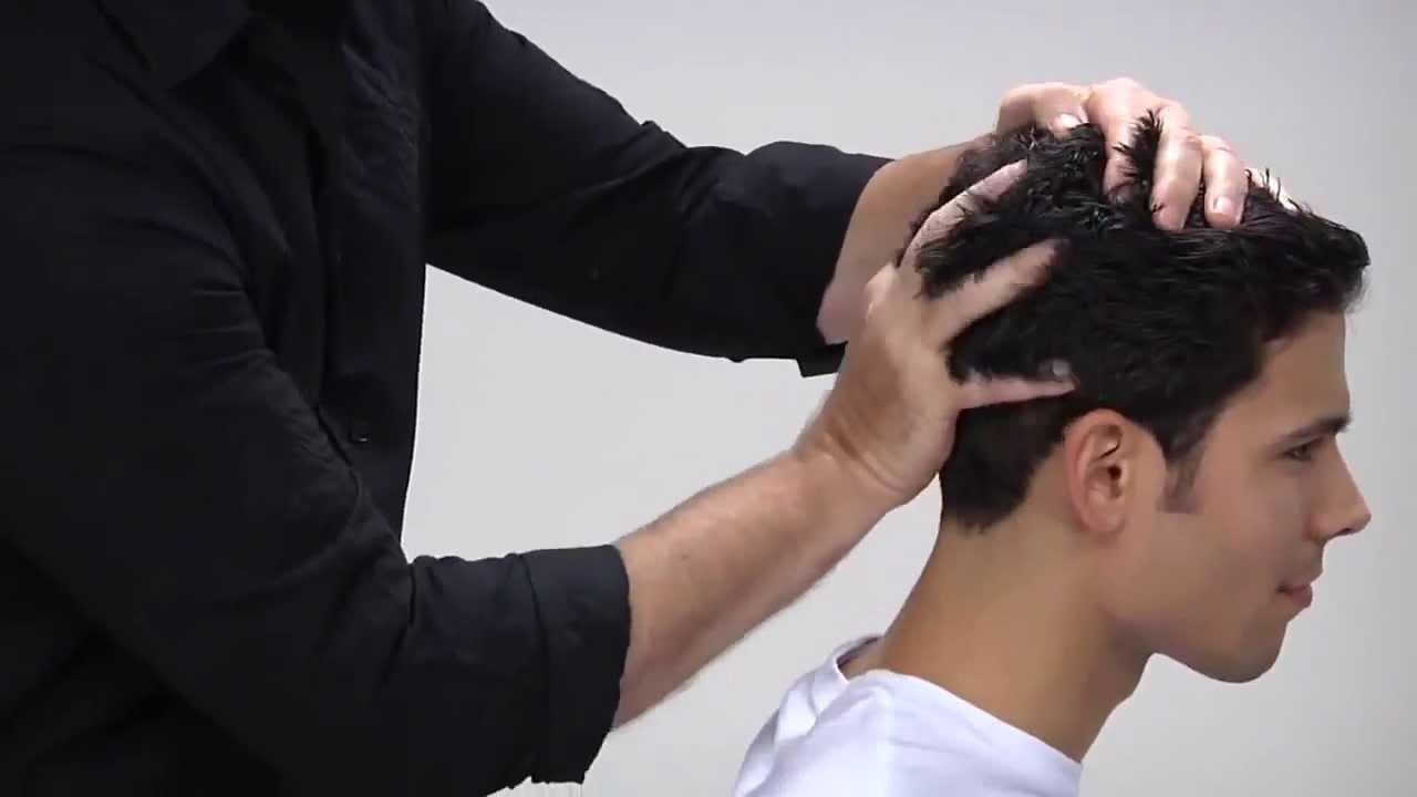 Как сделать укладку на волосах мужчине 967