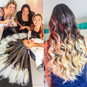 Окраска волос техникой «омбре»