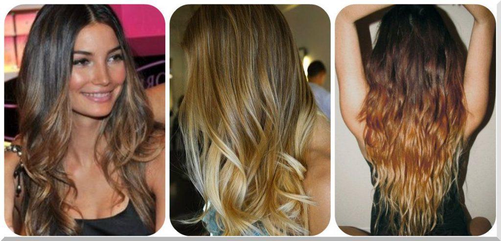 омбре фото до и после на короткие волосы